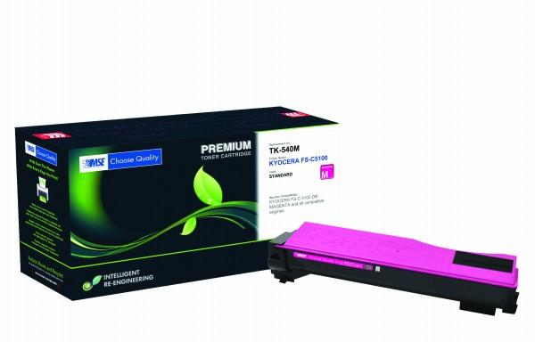 MSE Premium Farb-Toner für Kyocera FS-C5100 Magenta - kompatibel mit TK-540M