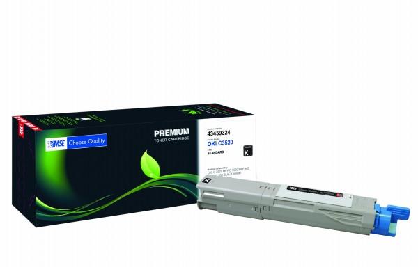 MSE Premium Farb-Toner für Oki C3520 Black - kompatibel mit 43459324