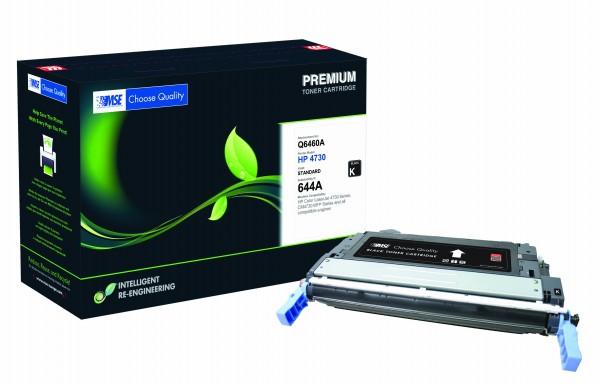 MSE Premium Farb-Toner für HP Color LaserJet 4730 (644A) Black - kompatibel mit Q6460A