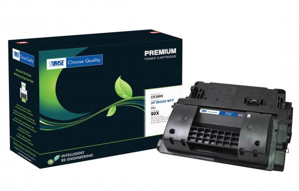 MSE Premium Toner für HP LaserJet M4555 (90X) High Yield - kompatibel mit CE390X