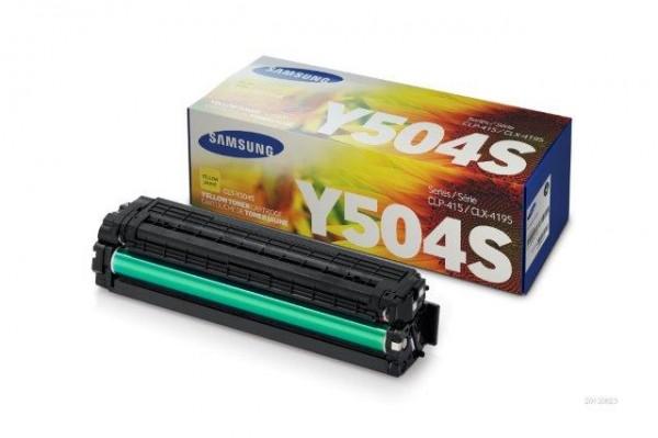 Original Toner Samsung SU502A / CLT-Y504S/ELS