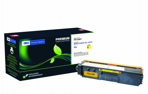 MSE Premium Farb-Toner für Brother HL-4570 Yellow - kompatibel mit TN328Y
