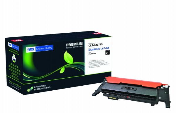 MSE Premium Farb-Toner für Samsung CLP-325 Black - kompatibel mit CLT-K4072S/ELS