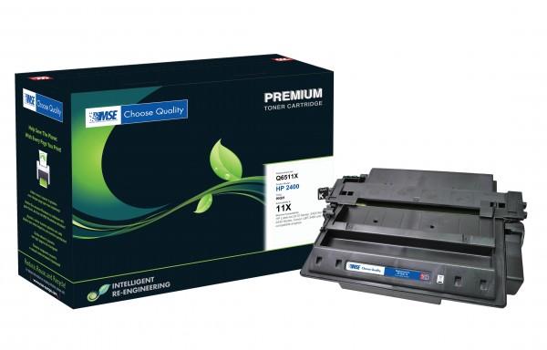 MSE Premium Toner für HP LaserJet 2420/2430 (11X) High Yield - kompatibel mit Q6511X