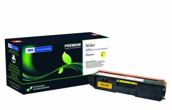 MSE Premium Farb-Toner für Brother HL-4140/4150/4570 Yellow - kompatibel mit TN320Y