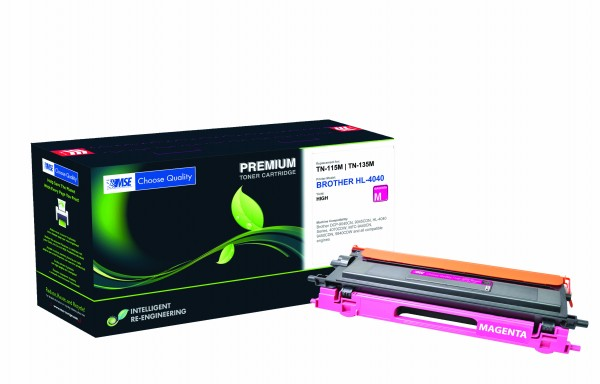 MSE Premium Farb-Toner für Brother HL-4040/4050/4070 Magenta - kompatibel mit TN135M