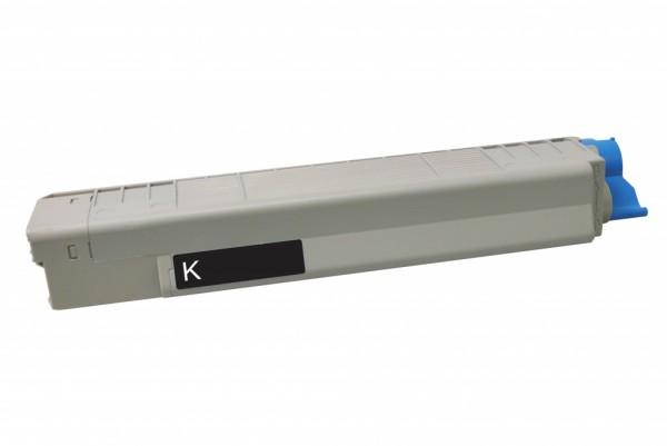 MSE Premium Farb-Toner für Oki C801/C821 Black - kompatibel mit 44643004