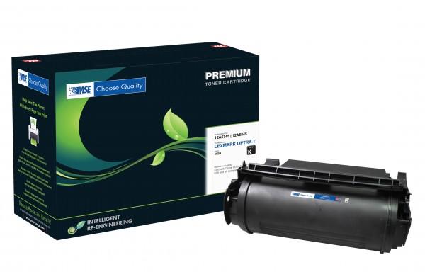 MSE Premium Toner für Lexmark Optra T610 High Yield - kompatibel mit 12A5745