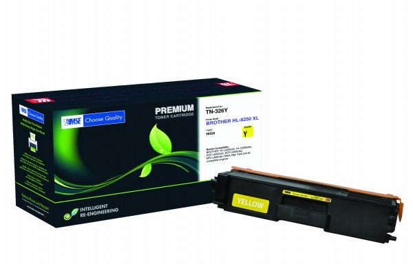 MSE Premium Farb-Toner für Brother HL-L8250/L8350 Yellow - kompatibel mit TN326Y