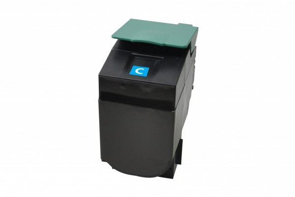 MSE Premium Farb-Toner für Lexmark C540 Cyan High Yield - kompatibel mit C540H2CG