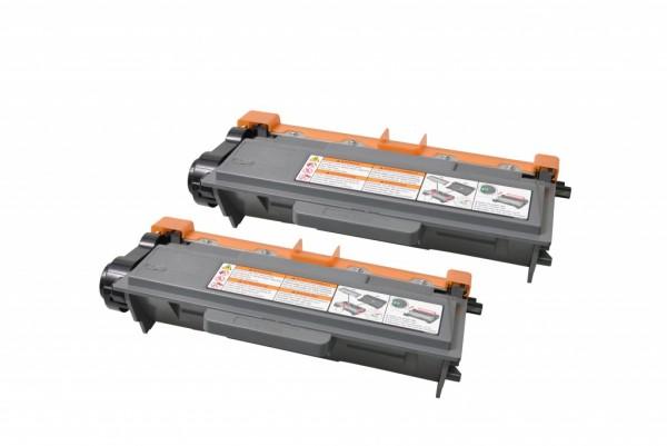 MSE Premium Toner für Brother HL-6180 Twin Pack - kompatibel mit TN3390TWIN