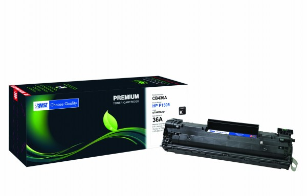 MSE Premium Toner für HP LaserJet P1505 (36A) - kompatibel mit CB436A