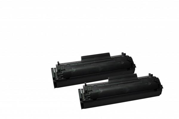 MSE Premium Toner für HP LaserJet 1010 (12A) Twin Pack - kompatibel mit Q2612AD