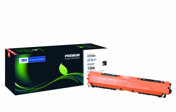 MSE Premium Farb-Toner für HP Color LaserJet M176/M177 (130A) Black - kompatibel mit CF350A