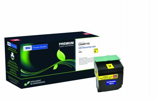 MSE Premium Farb-Toner für Lexmark C544 Magenta Extra High Yield - kompatibel mit C544X2MG
