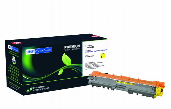 MSE Premium Farb-Toner für Brother HL-3140/3150/3170 Yellow - kompatibel mit TN245Y