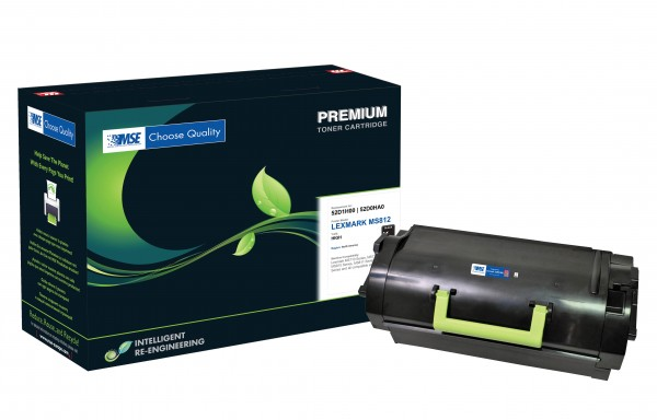 MSE Premium Toner für Lexmark MS810 High Yield - kompatibel mit 52D2H00