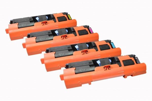 MSE Premium Farb-Toner für HP Color LaserJet 1500/2500 CMYK Multipack - kompatibel mit C9700A/01A/02